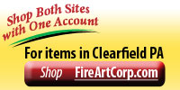 Shop Fire Art for items in Clearfield PA