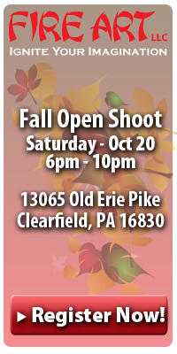 Fire Art Fall Shoot Oct 20